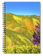 Wildflower Power Spiral Notebook