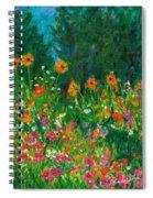 Wildflower Rush Spiral Notebook