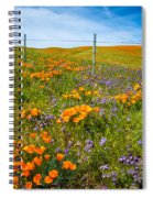Wildflower Wonders Of The High Desert Spiral Notebook