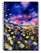 Wildflowers 67 Spiral Notebook