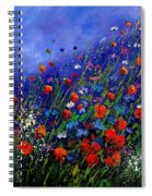 Wildflowers 78 Spiral Notebook
