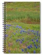 Wildflowers Along The Creek Spiral Notebook