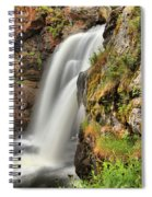 Wildflowers At Moose Falls Spiral Notebook
