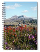 Wildflowers At Mount St Helens Spiral Notebook