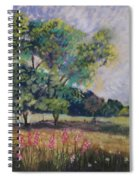 Wildflowers Best Stay Wild Spiral Notebook