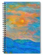 Wildflowers By A Blue Ridge Sunset Spiral Notebook