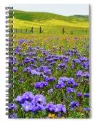 Wildflowers Carrizo Plain Spiral Notebook