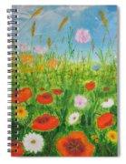 Wildflowers Field Spiral Notebook