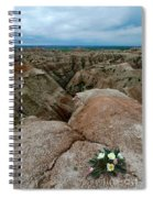 Wildflowers In The Badlands Spiral Notebook