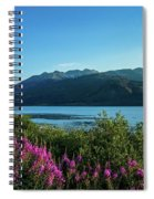 Wildflowers On The Edge Spiral Notebook