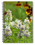 Wildflowers Three Spiral Notebook