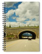Wildlife Crossing Spiral Notebook