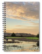 Wildlife Refuge Dusk Spiral Notebook
