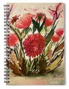 Wildly Red Spiral Notebook