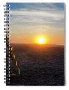 Wildwood New Jersey - Peaceful Morning Spiral Notebook