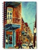 Wilensky's Corner Fairmount And Clark Spiral Notebook