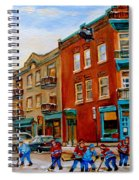 Wilensky's Street Hockey Game Spiral Notebook