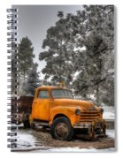 Will Plow For Snow Spiral Notebook