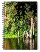 Willamette River Reflections 3783 Spiral Notebook