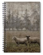 Willamette Valley Oregon Spiral Notebook