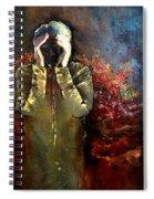 Willful Amnesia Spiral Notebook