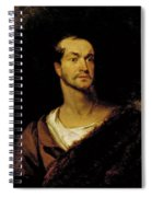 William Charles Macready As William Tell Spiral Notebook