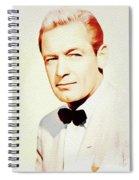 William Holden, Vintage Movie Star Spiral Notebook