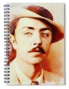 William Powell, Vintage Movie Star Spiral Notebook
