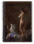 William Rush Carving His Allegorical Figure Spiral Notebook