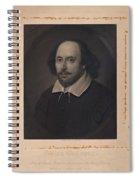 William Shakespeare Spiral Notebook