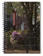 William Street In Bloom Spiral Notebook