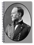 William Tecumseh Sherman Spiral Notebook