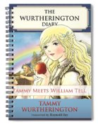 William Tell Cover Art Spiral Notebook
