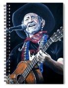 Willie Nelson 2 Spiral Notebook