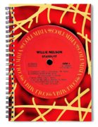 Willie Nelson Stardust Lp Label Spiral Notebook