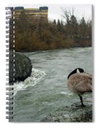 Willie Willey Rock - Riverfront Park - Spokane Spiral Notebook