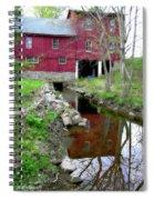 Williston Mill Reflections Spiral Notebook