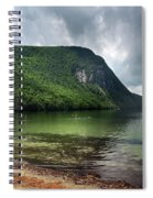 Willoughby Lake In Westmore Vermont Spiral Notebook