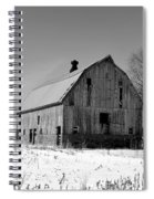 Willow Barn Bw Spiral Notebook