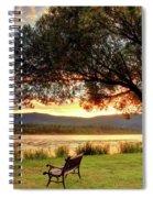 Willow Bay Spiral Notebook