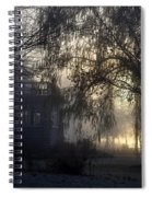 Willow In Fog Spiral Notebook