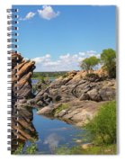 Willow Lake And Granite Dells Spiral Notebook