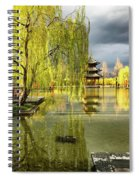 Willow Tree In Liiang China II Spiral Notebook