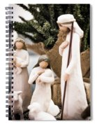 Willow Tree Nativity At Christmas Spiral Notebook