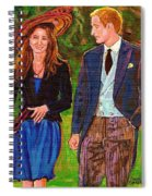 Wills And Kate The Royal Couple Spiral Notebook