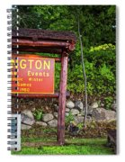 Wilmington Ny Alpine Events Olympic Winter Games 1980 Ski Lift Spiral Notebook