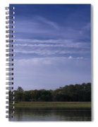 Wilmington River Savannah Morning Spiral Notebook