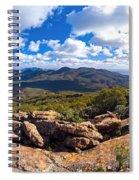 Wilpena Pound And St Mary Peak Spiral Notebook
