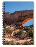 Wilson Arch Spiral Notebook