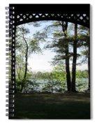 Wilson Pond Framed Spiral Notebook